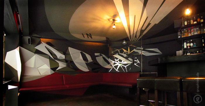 Lost in Space von Graphism in der Robinson Bar