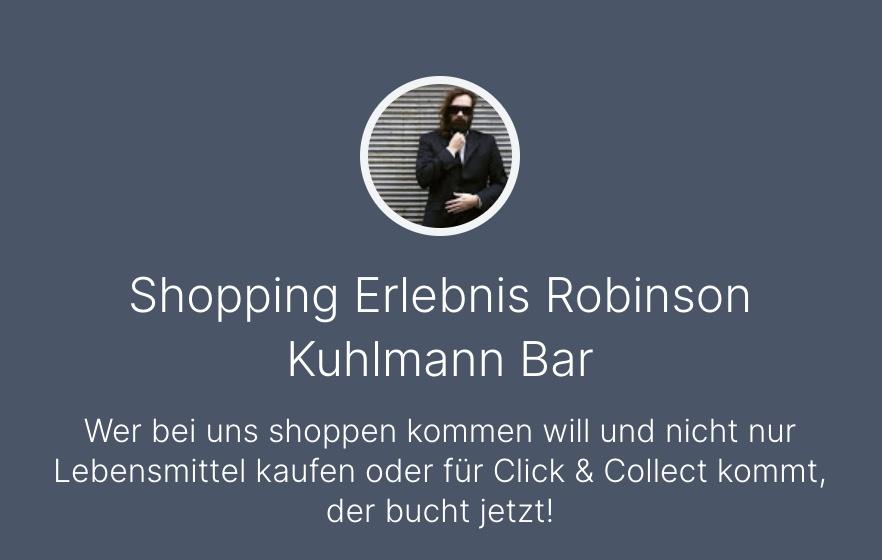Einen Termin mit der Robinson Kuhlmann Bar