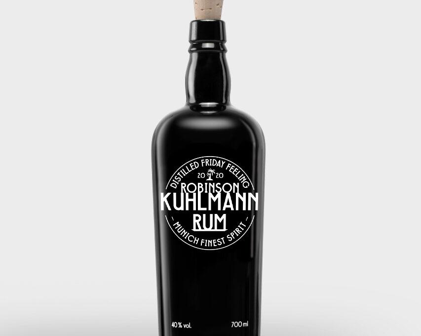Robinson Kuhlmann Rum an der Bar